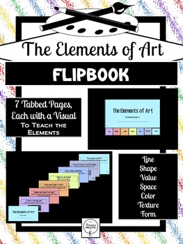 ELEMENTS OF ART QUICK REFERENCE FLIPBOOK