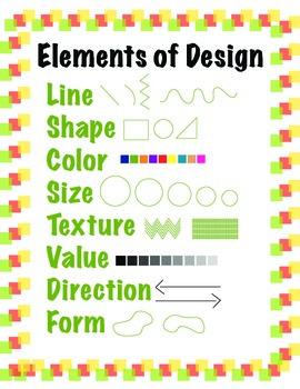 ELEMENTS OF DESIGN POSTER