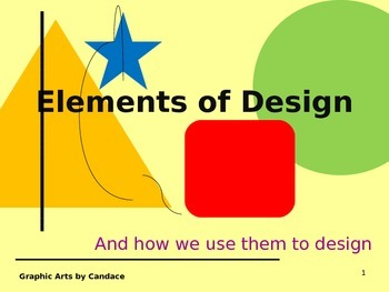 ELEMENTS OF DESIGN - PowerPoint