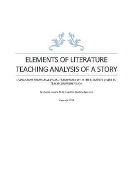 TEACHING ANALYSIS OF A STORY