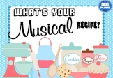 ELEMENTS OF MUSIC BULLETIN BOARD - WHAT'S YOUR MUSICAL RECIPE