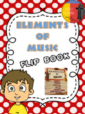 ELEMENTS OF MUSIC - FLIP BOOK