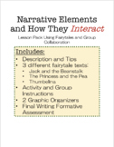 ELEMENTS OF NARRATIVE - HOW THEY INTERACT // 5-9th Grades,