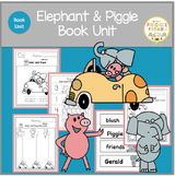 ELEPHANT AND PIGGIE  BOOK UNIT