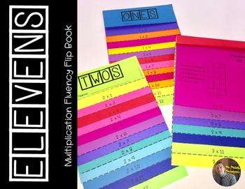 ELEVENS Multiplication Fact Fluency Flip Book: Grades 3-5