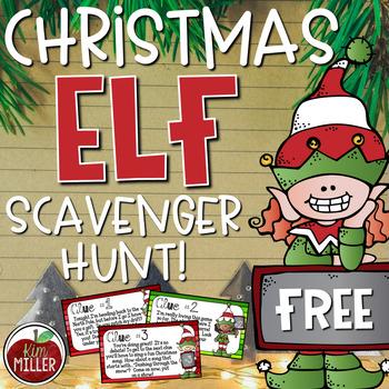 ELF Christmas Scavenger Hunt