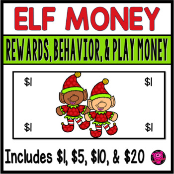 ELVES CLASSROOM REWARDS to PROMOTE POSTIVE BEHAVIOR