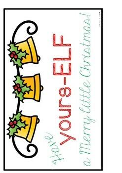 ELF YOURSELF FUN CHRISTMAS CRAFT AND WRITING