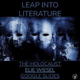 PRE-READING ACTIVITY FOR NIGHT BY ELIE WIESEL   ELIE WIESEL GOOGLE SLIDES