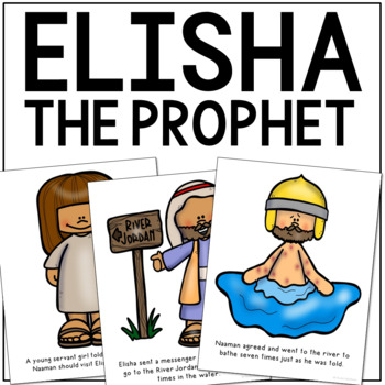 ELISHA THE PROPHET Bible Story Coloring Pages   Easy Craft