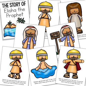 Prophet Elisha coloring pages | Free Coloring Pages | 350x350