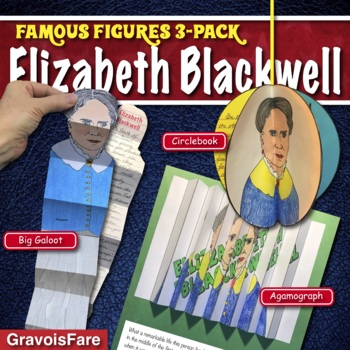 ELIZABETH BLACKWELL ACTIVITIES: 3 Hands-On Projects and Foldable Craftivities