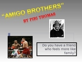 "ELL Activities for ""Amigo Brothers"" by Piri Thomas"