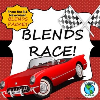 ELL Blends and Vocabulary Game Freebie