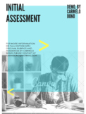 ELL/ELD Placement Initial Assessment (Demo.) By Bono