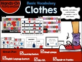 ELL / ESL Hands-on Intervention: Clothes