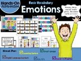 ELL / ESL Hands-on Intervention: Emotions
