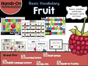 ELL / ESL Hands-on Intervention: Fruit