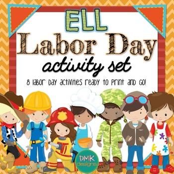 ELL Labor Day Activity Set