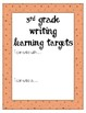 Learning Target Posters (ELL)