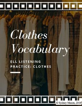 ELL Listening Practice: Clothing