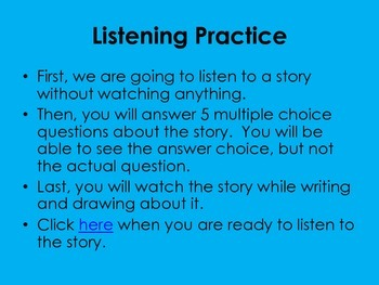 ELL Listening Practice:  Private I. Guana