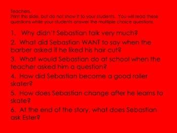 ELL Listening Practice:  Sebastian's Roller Skates