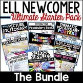 ELL Newcomer Activities: 10 Back to School ELL/ESL Resources ~ The Bundle