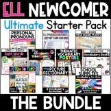 ESL Newcomer Activities 10 Back to School ELL/ESL Resources Beginning Vocabulary