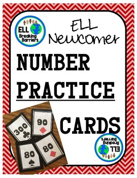 ELL Newcomer: Number Card Game