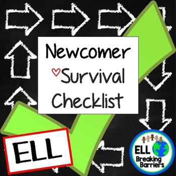 ELL Newcomer Survival Checklist