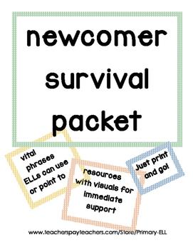 ELL Newcomer Survival kit