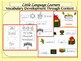 ELL Newcomers Holiday Bundle-Building Vocabulary and Basic Literacy Skills