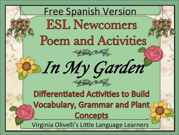 ELL Newcomers' Plant Resource to Build Concepts and Literacy Skills