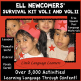 ELL Newcomers' Survival Kit Volumes I and II ESL Newcomer