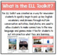 ELL Newcomers Toolkit: Unit 10, Travel & Culture
