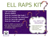 ELL RAPS KIT:  English Only Version