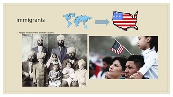 American Immigrants  6.1.3