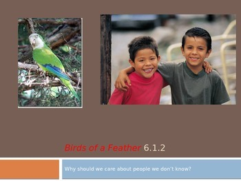 Birds of a Feather 6.1.2