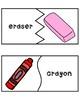 ELL School Supply Vocabulary!