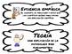 ESL Vocabulary Cards-Science Word Wall-Scientific Method -English & Spanish