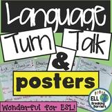ELL Speaking Posters, Turn & Talk