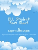 ELL Student Fact Sheet