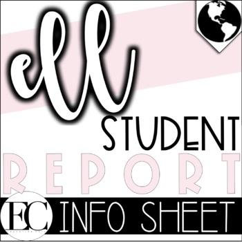 ELL Student Reports WIDA