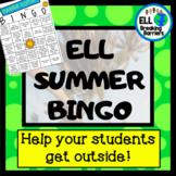 ELL Summer Bingo