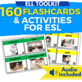 ELL Vocabulary Flashcards: 10 Mini Units for English Survi