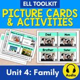 ELL Toolkit: Unit 4, Home/Family {A Mini Unit for English Survival Skills}