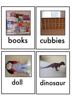 ELL Vocabulary Building Cards
