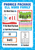 'ELL WORD FAMILY' Phonics Lesson Package
