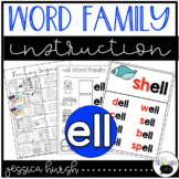 ELL Word Family Instruction Unit